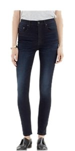 Madewell Rivet & Thread Skinny Jeans-Dark Rinse