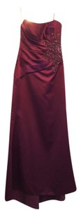 Mori Lee Beaded Satin Holiday New Years Party Dress
