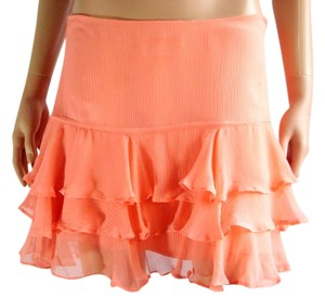 W118 by Walter Baker Silk Skirt Salmon Pink