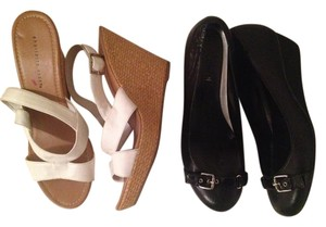Steve Madden, Bandolino, Ralph Lauren, Charlotte Russo Batch Black and white Pumps