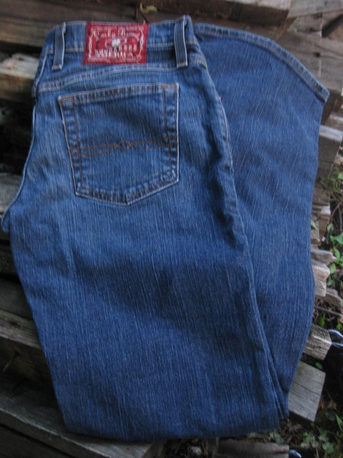 Lucky Brand Premium Denim 6 28 Boot Cut Jeans-Medium Wash