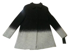 Zara Wool Ombre Pea Coat