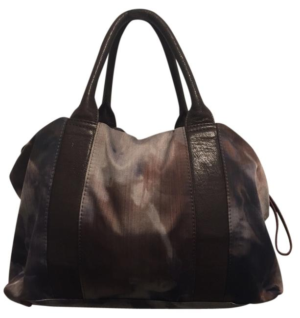 Item - Night Storm Tie Dye Lillian Multicolor Linen Satchel