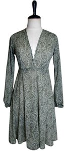 Lisa Nieves short dress Hunter Green Short Longsleeve Stretchy V-neck on Tradesy