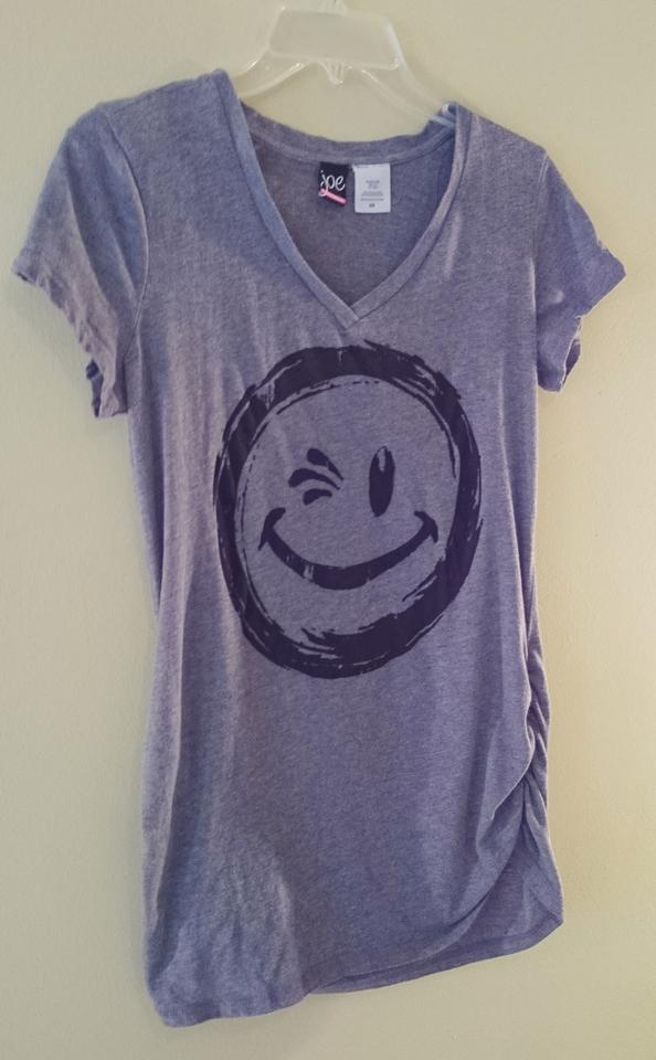 Joe Boxer Medium Gray Smile Bunched / Tee Shirt Size 10 (M) - Tradesy