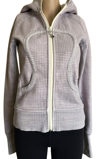 Item - Gray Houndstooth Scuba Activewear Outerwear Size 4 (S, 27)