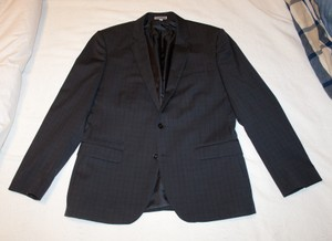 Express Express Photographer Fitted Suit Jacket