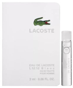 Lacoste Lacoste Eau De Lacoste L.12.12 Blanc Eau De Toilette Spray for Men 2ml