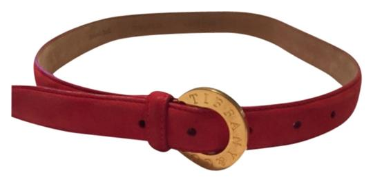 Preload https://img-static.tradesy.com/item/10230025/tiffany-and-co-red-suede-belt-0-1-540-540.jpg