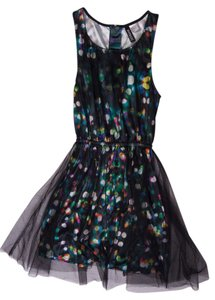 Divided by H&M short dress Black Lights Tulle on Tradesy