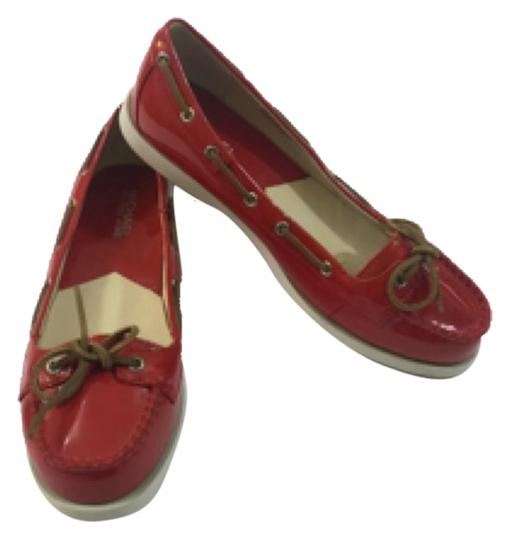 Preload https://item2.tradesy.com/images/michael-michael-kors-red-patent-leather-loafers-flats-size-us-75-regular-m-b-10230136-0-1.jpg?width=440&height=440