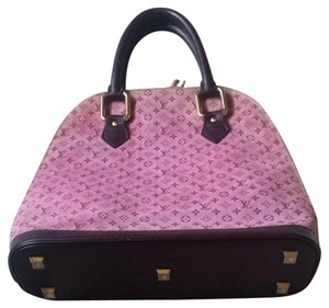 Louis Vuitton Tote Pink Satchel