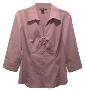 Style & Co Button Down Shirt Lilac