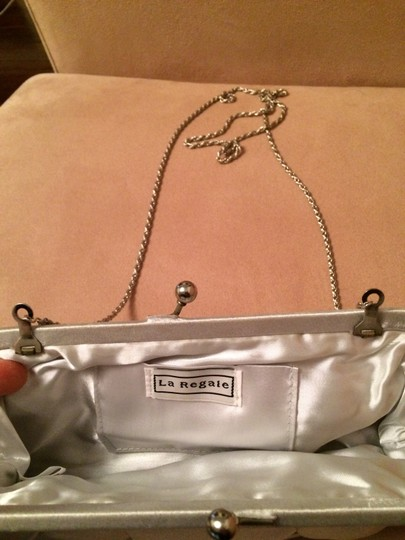 La Regale Silver Clutch
