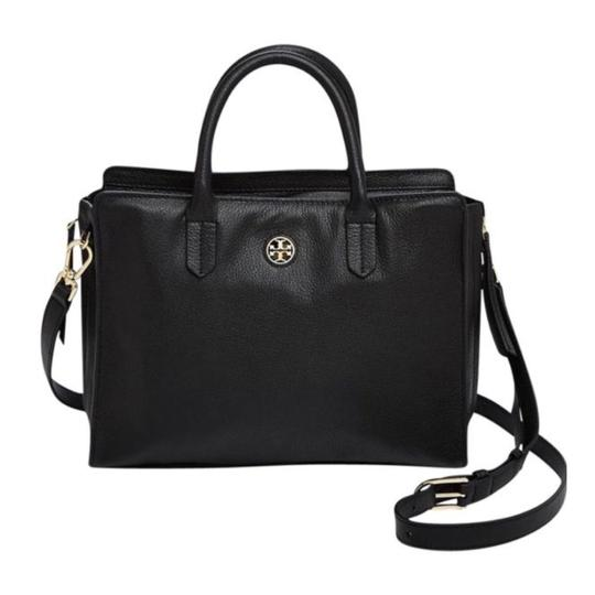 Preload https://item2.tradesy.com/images/tory-burch-brody-small-black-leather-tote-10231381-0-2.jpg?width=440&height=440