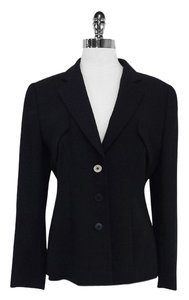 Giorgio Armani Black Wool Jacket