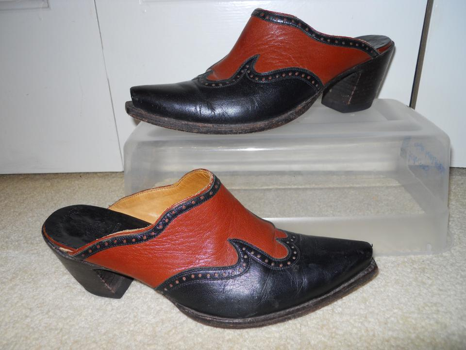 Black Wing Tip Shoes Brown Soles