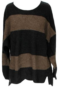Vince Wool Yak Bold Stripe Sweater