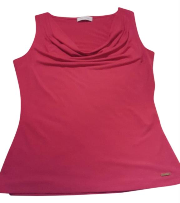 Preload https://item4.tradesy.com/images/calvin-klein-hot-pink-blouse-size-4-s-10232473-0-1.jpg?width=400&height=650