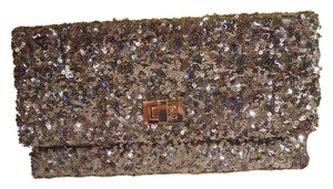 Crabtree & Evelyn Sequin Evening grey Clutch