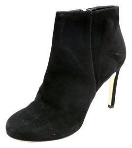 Via Spiga Black Seude Boots