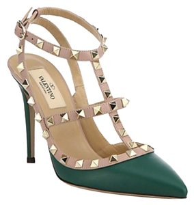 Valentino Emerald Pumps