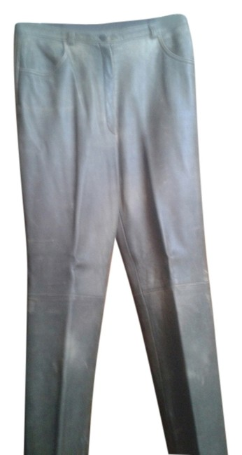 Preload https://item2.tradesy.com/images/escada-lambskin-greenish-brown-made-in-germany-leather-straight-leg-pants-size-8-m-29-30-10232821-0-1.jpg?width=400&height=650