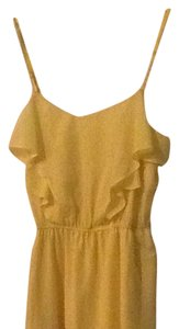 BCBGeneration short dress Yellow on Tradesy