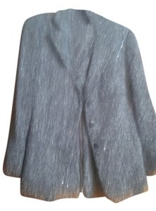 Giorgio Armani Armani NWT $1550 heavy tweed skirt suit