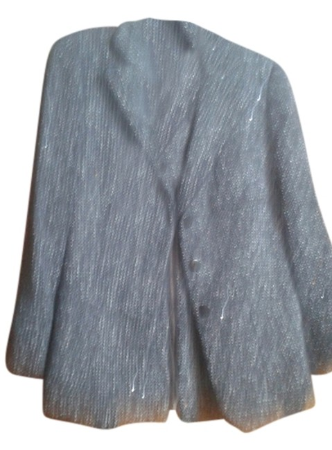 Preload https://item3.tradesy.com/images/giorgio-armani-black-with-white-sparkly-thread-tweed-skirt-suit-size-8-m-10233337-0-1.jpg?width=400&height=650