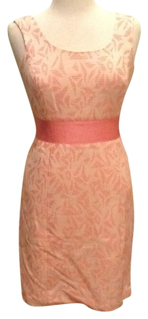 Preload https://img-static.tradesy.com/item/10233655/ann-taylor-pink-with-cream-pinkcream-tag-never-worn-above-knee-cocktail-dress-size-2-xs-0-2-650-650.jpg