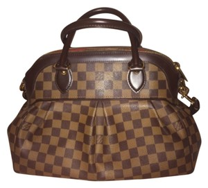Louis Vuitton Trevi Pm Tote in Brown