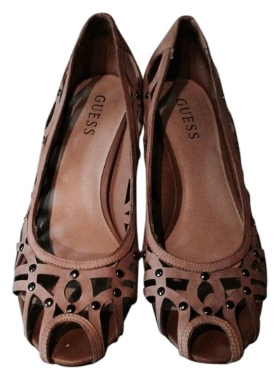 Preload https://item5.tradesy.com/images/guess-tan-wedges-1023459-0-0.jpg?width=440&height=440