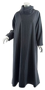 Charcoal Grey Maxi Dress by Eskandar Cashmere Blend