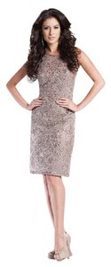 Montage By Mon Cheri Champagne 213890 Dress
