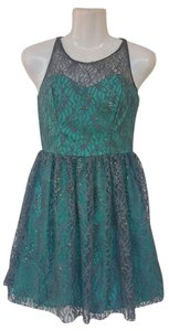 Ruby Rox Lace Sequins Tulle Sweetheart Dress