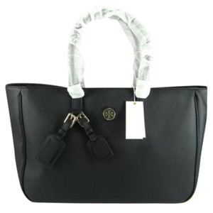 Tory Burch Roslyn Leather Handbag Handbag Rosyn Purse Shoes Friday Flats Tote in Black