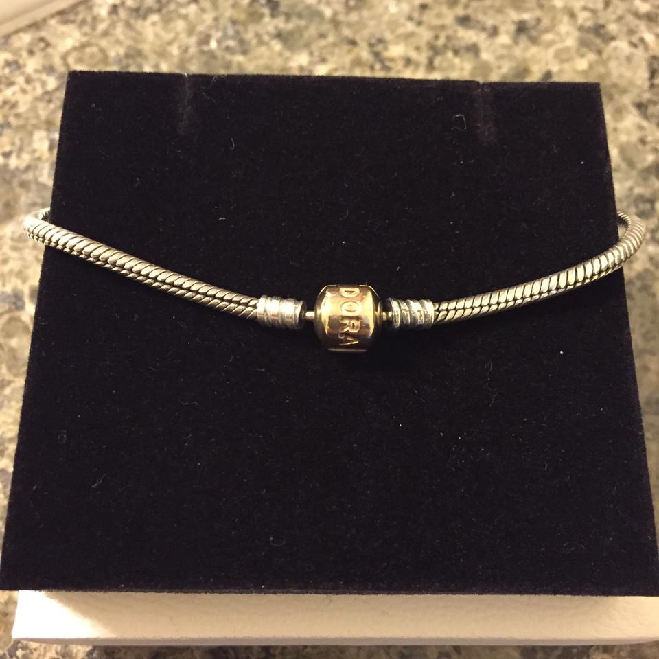 bf83650d1c446 PANDORA Gold and Silver Two Tone 590702hg Bracelet