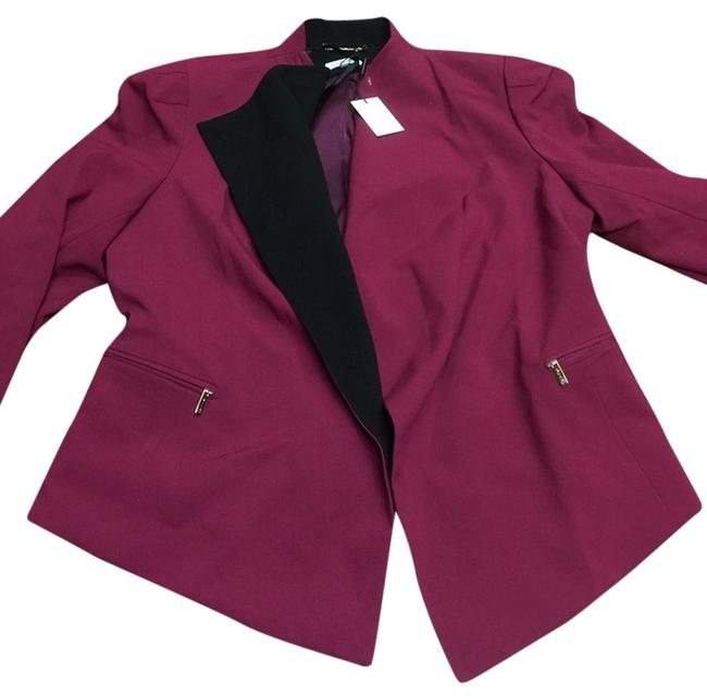Preload https://item3.tradesy.com/images/calvin-klein-impeccable-two-tone-fold-over-collar-blazer-size-8-m-10235902-0-1.jpg?width=400&height=650