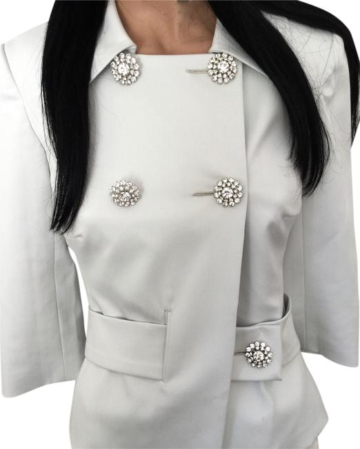 Preload https://img-static.tradesy.com/item/10236019/trina-turk-white-crystal-buttons-evening-jacket-new-blouse-size-4-s-0-2-650-650.jpg