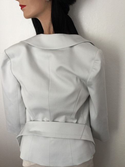 Trina Turk Evening Jacket Crystal Buttons Crystal Wedding Jacket Wedding Dinner Jacket Special Event Jacket New Jacket Exquisite Top White
