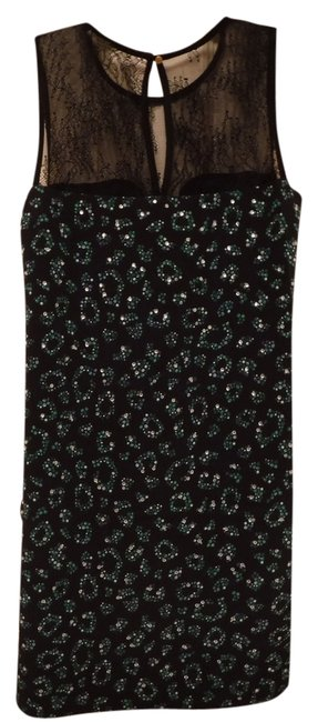 Preload https://item1.tradesy.com/images/juicy-couture-black-and-green-silk-shift-short-night-out-dress-size-2-xs-10236175-0-8.jpg?width=400&height=650