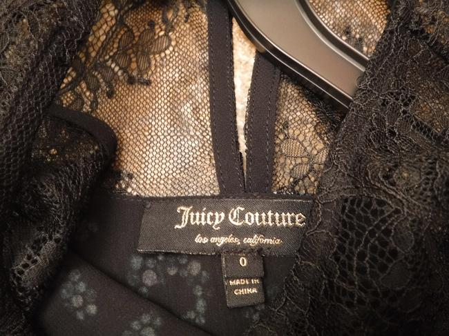 Juicy Couture Silk Lace Crystal Sequin Dress
