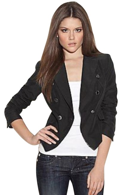 Preload https://img-static.tradesy.com/item/10236556/guess-black-the-fluid-prep-blazer-with-and-white-striped-lining-size-2-xs-0-1-650-650.jpg
