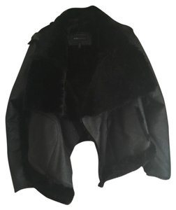 BCBGMAXAZRIA Blac Leather Jacket