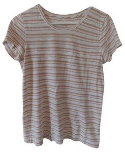 J.Crew T Shirt peach & white