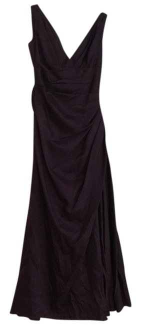 Item - Aubergine Maids By Watters Style 451 Long Formal Dress Size 10 (M)