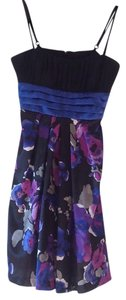 B Wear Too! Byer, California short dress Purple, Blue, Black on Tradesy