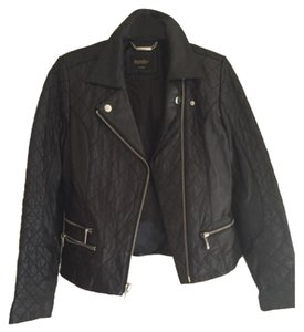 Laundry by Shelli Segal Blac Leather Jacket
