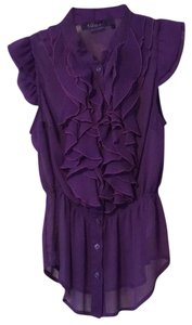 Miley Cyrus & Max Azria Top Purple